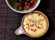 Baked Ricotta with Salad