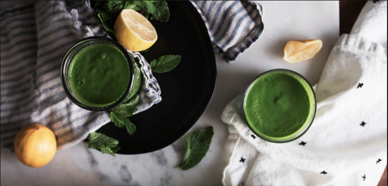 Green Smoothie by Dr. Gundry from his book The Plant Paradox