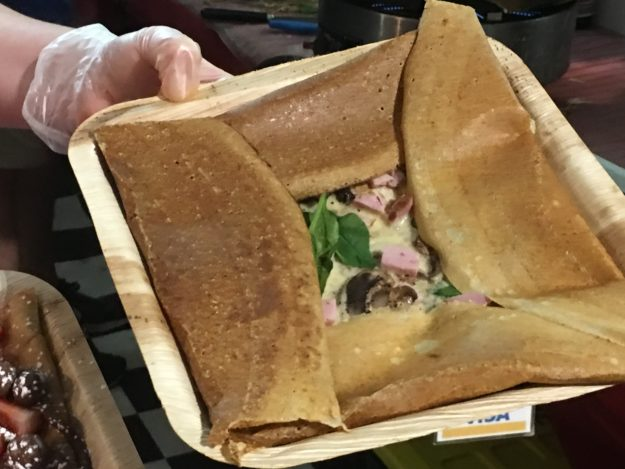 J'Adore Les Crepes at the Twilight Makers Markets at Raby Bay, Cleveland QLD Australia