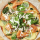 Smoked Salmon and Potato Pizza with Creamy Horseradish Sauce